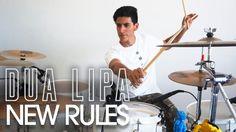 NEW RULES - Dua Lipa    Drum Remix *Bateria* New Rules Dua Lipa, Drum, Celebrities, Music, Musica, Celebs, Musik, Muziek, Music Activities