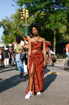 All the Glorious Looks from Afropunk 2017 Fashion 90s, Afro Punk Fashion, Black Girl Fashion, Look Fashion, Fashion Outfits, Fashion Terms, Stylish Outfits, Punk Outfits, Hippie Outfits