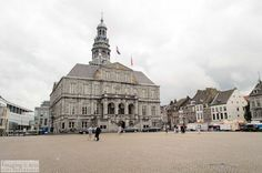 Historic city hall (Stadhuis) in the center of Maastricht in The Netherlands.