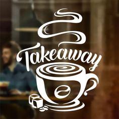 Cofee is always a Good Idea Cafe Shop vinyl sticker Window Wall art sign decor – Wall Decor 2020