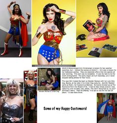Wonder Woman Full Costume no cape... Hurry by pinkpurr on Etsy, $250.00