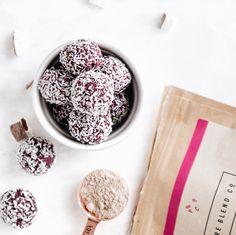 Healthy vegan protein balls