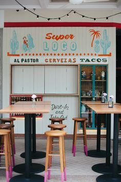 Super Loco Mexican Restaurant Branding - Grits + Grids