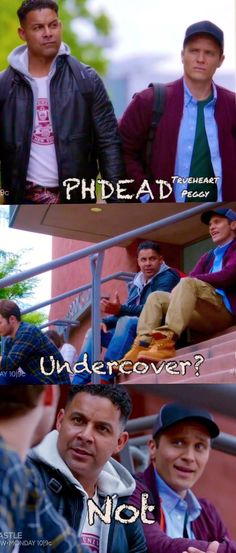 PHDEAD: Ryan and Espo undercover. Not! Busted.