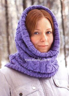 Kapor knitted pattern braids - Russian site, use Google Chrome to translate.