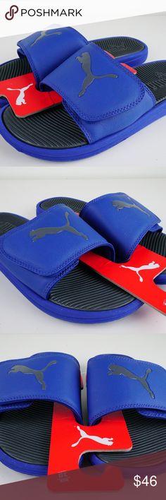 354098006441 Puma Cat Slide Sandal Slippers Flip Flops Men Brand new (Item packed nicely  for safe