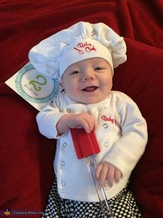 Baby Chef - 2015 Halloween Costume Contest via @costume_works
