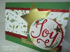 handmade by Julia Quinn - Independent Stampin' Up! Demonstrator: Berry Merry for TGIFC#20 challenge