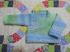 From the book, Natural Knits. Very easy and fast. Used Bernat Baby Jacquard.