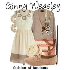 """Ginny Weasley"" by fofandoms on Polyvore"