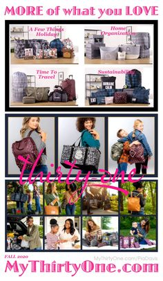 #31 More of what you LOVE @ MyThirtyOne.com/PiaDavis Items for Home & Office Organization, Travel, Sustainability & Christmas & More. Utility Totes, Backpacks, LunchBags, Purses, Pouches, Bags, Wallets & so much more. Check out the great #Customer #REWARDS... 50% OFF ANY regular-priced item for every $50 you spend #Save on Utility #Totes Crossbody & Shoulder #Wallets #Backpacks #LunchBags #Purses #Pouches #Pillows #MangoWood Home Decor... #MyThirtyOne #ThirtyOneGifts #ThirtyOne #PiaDavis…