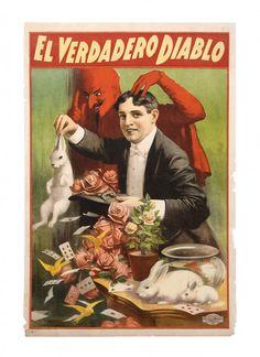 El Verdadero Diablo stock poster. ca. 1907