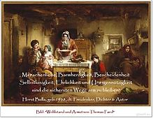 Bildzitat Die sichersten Wege Arm zu bleiben - Zitat von Horst Bulla  - Gedichte - Zitate - Quotes - deutsch
