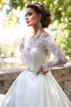2f92fc56bd7c ... Dresses & Bridal Gowns | Milla Nova Custom Wedding Dresses | Lace  Wedding Dresses | Ball Gown Wedding Dresses | Long Sleeve Wedding Dresses |  Off ...