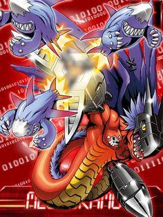 Megadramon Digimon Collectors card (EX card)