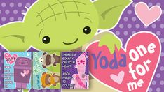 Adorable free Anniversary/Valentines Star Wars Printable Love Cards