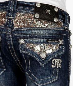 Sparkle Butt Miss Me Jeans