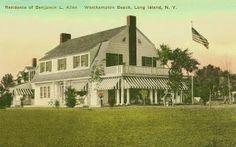 'Notamiset', the Benjamin L. Allen residence.