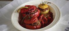 Delhaize - Gevulde tomaten en paprika's