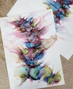 Artist Share Their Alcohol Ink Tips – Happily Ever Crafty - Gina Leone - Alcohol inks are one of my favorite mediums to work with! They create absolutely stunning art and are such a fun medium to work with. If your interested in trying out this style of Alcohol Ink Tiles, Alcohol Ink Glass, Alcohol Ink Crafts, Alcohol Ink Painting, Alcohol Markers, Alcohol Ink Jewelry, Art Inspiration Drawing, Guache, Flower Mandala