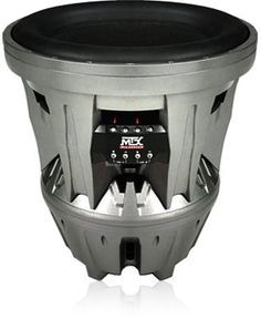 """T9922-44 - MTX Audio 22"""" 6000 Watt Jackhammer Subwoofer - Brand New, unopened in Original Packaging. Ships Same Day, Full 1 year Warranty. Product Features  Description: 22"""" Subwoofer Impedance: Dual 4 Ohms Frequency Response: 20Hz - 150 RMS Power (W"""