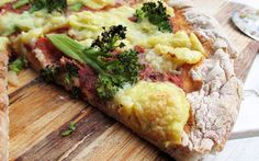 Gluten-Free Pizza Crust With Nut-Free Cheese [Vegan, Gluten-Free] | One Green Planet