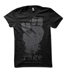 "Rage Against the Machine ""Big Fist"" Tee   $25.00"