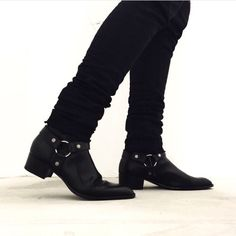 New post on blackistheonlycolor Men's Shoes, Shoe Boots, Dress Shoes, Aldo Boots, Ankle Boots, Mens Boots Fashion, Sneakers Fashion, Estilo Rock, Well Dressed Men