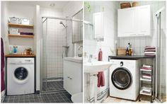 lavadora en el baño : via MIBLOG