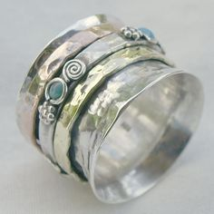 Meditation Rings, Hand Crafted jewellery, Sterling Silver, Semi Precious Gemstones, Worry Rings, Prayer Ring, Jewellery from India & Nepal, Buy Online, Retail & Wholesale Jewellery Store | Cahoia Creations | Vancouver Island, BC, Canada