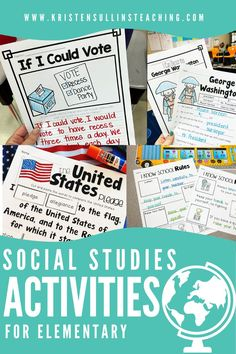 Easy click and print resources to supplement your first grade social studies curriculum inlcuding vocabulary, interactive notebooks, graphic organizers and cross-curricular writing. Social Studies Curriculum, Social Studies Activities, Teaching Social Studies, Rules And Laws, Cross Curricular, Organization Station, Hands On Learning, Teacher Hacks, King Jr