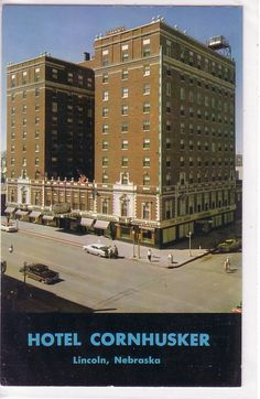Hotel Cornhusker #nebraskahotels