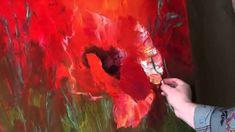"FREE! Full video ""large poppies"" painter Igor Sakharov"