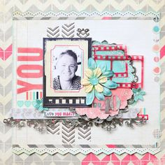 Gerry van Gent: 2 *NEW* Layouts for {Glitz Design}