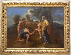 Nicolas POUSSIN - Les bergers d'Arcadie vers 1638/1640 - Louvre