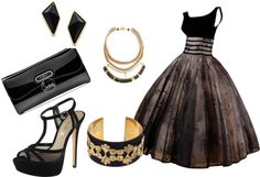 """""""elegant evening"""" by sabstyles-264 on Polyvore"""