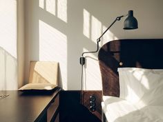 Light-filled bedroom--Hotel Miss Clara by Nobis Group, Sweden