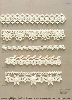 Crochet Edging And Borders - Trendy lace edging crochet patterns free vintage fan crochet edging - a free pattern Crochet Edging Patterns, Crochet Lace Edging, Crochet Borders, Crochet Chart, Lace Patterns, Crochet Trim, Crochet Edgings, Crochet Flowers, Crocheted Lace