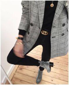 m File #fashion #style #blazer #gucci #belt #blazer #emfashionfiles