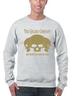 Golden Company Our word is as good as gold men sweatshirt