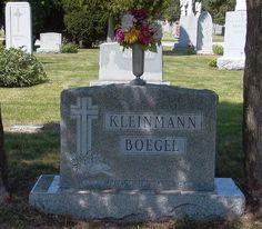 Have You Seen My Roots?: Tombstone Tuesday - Adelbert Boegel #genealogy