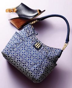 Cute bag and a chic wedge to boot! Tommy Hilfiger