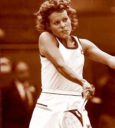 Evonne Goolagong Cawley - My first sporting hero. I was only about 4 years old but I still remember when she won her second Wimbledon title. Inspiring.