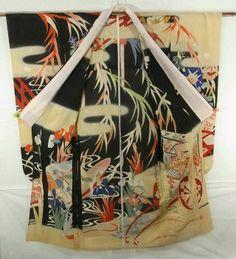 Furisode #270845 Kimono Flea Market Ichiroya