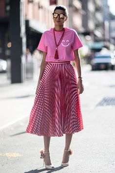 THE BEST OF THE IMPRESSION'SNEW YORKFASHION WEEKSTREETSTYLE SPRING 2017