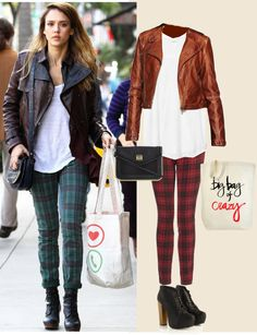 """Celebrity Street Fashion : Jessica Alba"" by les-lydia-eleni-schaidreiter on Polyvore"
