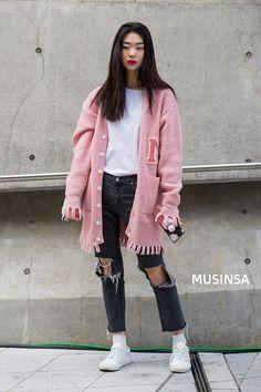#MUSINSA #Kmodel style 2018 s/s HERA Seoul fashion week