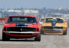 Bosses! 1970 Mustang Boss 302's