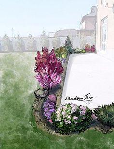 Kim Shadow Landscape Design, Floral Wreath, Decor, Decoration, Decorating, Dekorasyon, Dekoration, Landscape Designs, Floral Garland