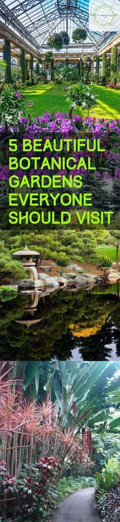 5 Beautiful Botanical Gardens Everyone Should Visit